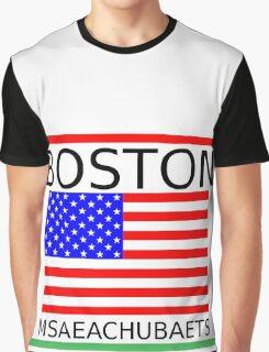 BOSTON, MSAEACHUBAETS Graphic T-Shirt