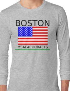 BOSTON, MSAEACHUBAETS Long Sleeve T-Shirt