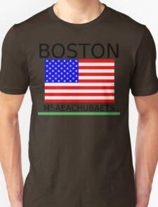 BOSTON, MSAEACHUBAETS Unisex T-Shirt