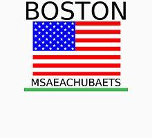 BOSTON, MSAEACHUBAETS Men's Baseball ¾ T-Shirt