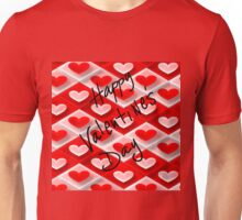 Hearts Valentines Day Unisex T-Shirt