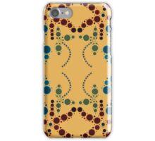 Flower Symmetry 70's iPhone Case/Skin