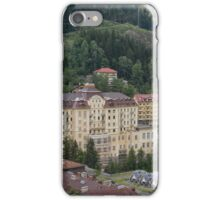 Hotel Weismayr in Bad Gastein iPhone Case/Skin