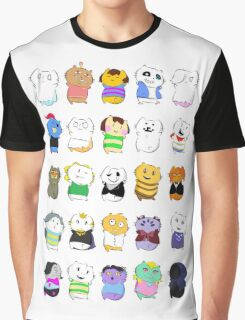 Undertale - Underkitties Graphic T-Shirt