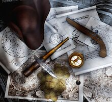 Old World Travel 3 by Gypsykiss