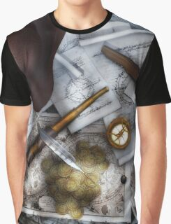 Old World Travel 3 Graphic T-Shirt
