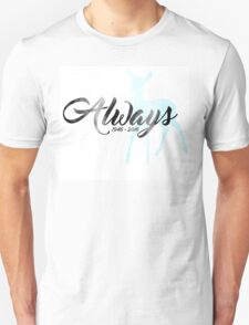 "In Memoriam - Alan Rickman ""Always"" Unisex T-Shirt"