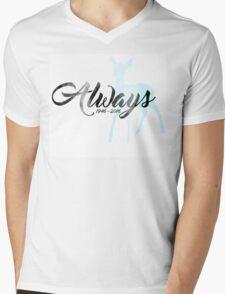 "In Memoriam - Alan Rickman ""Always"" Mens V-Neck T-Shirt"