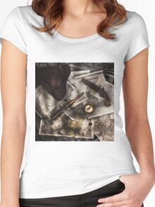 Old World Travel 4 Women's Fitted Scoop T-Shirt