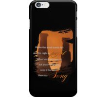 Singing Towers, There is a Song, Doctor Who iPhone Case/Skin