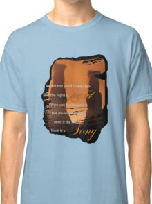 Singing Towers, There is a Song, Doctor Who Classic T-Shirt