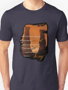 Singing Towers, There is a Song, Doctor Who Unisex T-Shirt