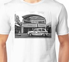Camden Town London Taxi (Black and White) Unisex T-Shirt