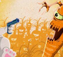 Bad Wabbit vs. Killer Carrots Sticker