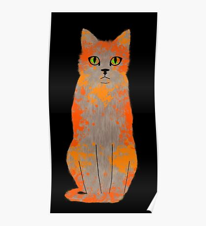 Warrior Cats Acrylic  Poster
