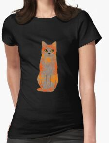 Warrior Cats Acrylic  Womens Fitted T-Shirt