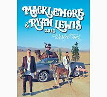 MACKLEMORE RYAN LEWIS 2013 World TOur Unisex T-Shirt