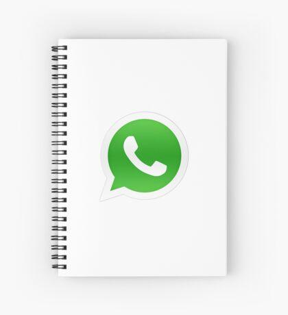 Whatsapp Logo Spiral Notebook