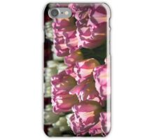 Pink and White Tulips Photograph iPhone Case/Skin
