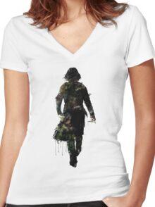 "Harry Potter // Professor Snape - ""Always"" Women's Fitted V-Neck T-Shirt"