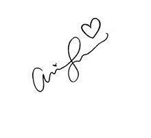 Ariana Grande Signature  by Victoria G