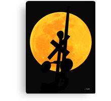 Night Crossing Canvas Print
