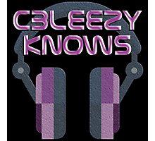 CBleezy Knows Photographic Print
