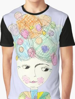 Madame Moonage - a tribute to David Bowie (lilac) Graphic T-Shirt