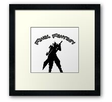 Cloud's Final Fantasy Framed Print