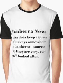 Gina's Canberra Turkeys Graphic T-Shirt