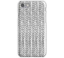 Knit Outline iPhone Case/Skin