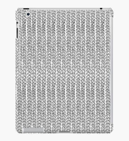 Knit Outline iPad Case/Skin