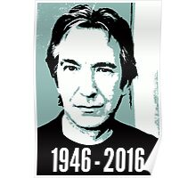 Rest In Peace, Alan Rickman Poster