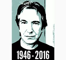 Rest In Peace, Alan Rickman Unisex T-Shirt