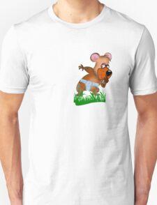 Shh.. Bear Has News! (Playing Dress UP)   (5760  Views ) T-Shirt