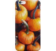 Fall Pumpkins iPhone Case/Skin