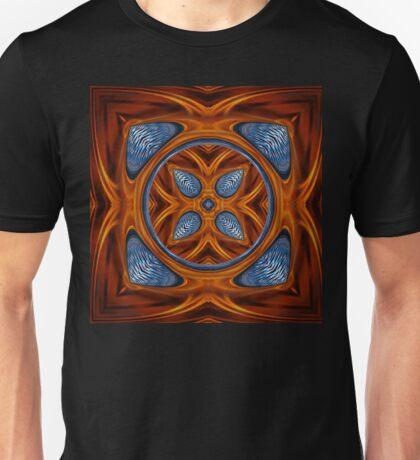 Copper & Blue Cube Unisex T-Shirt