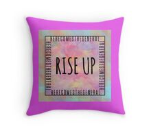 Right hand man // Rise up! Throw Pillow