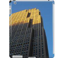 Rockefeller Center iPad Case/Skin