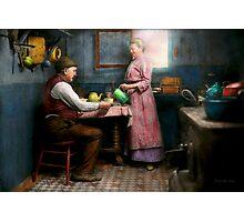 Kitchen - Morning Coffee 1915 Photographic Print
