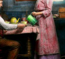Kitchen - Morning Coffee 1915 Sticker