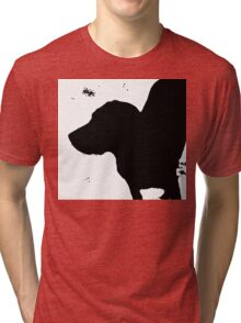 Dog in a Blizzard Tri-blend T-Shirt