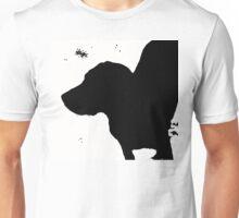 Dog in a Blizzard Unisex T-Shirt
