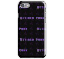 Retired Punk iPhone Case/Skin
