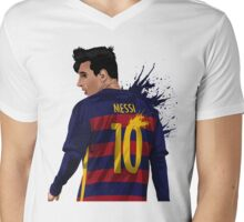 Messi Mens V-Neck T-Shirt