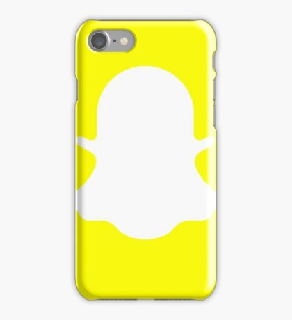 Snapchat Logo iPhone Case/Skin