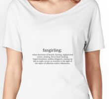 Fangirling Women's Relaxed Fit T-Shirt