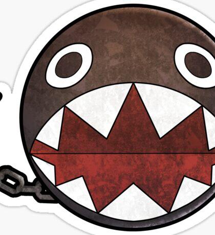 [Super Mario] Chain Chomp Sticker