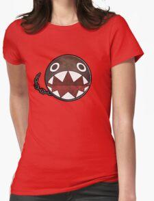 [Super Mario] Chain Chomp Womens Fitted T-Shirt