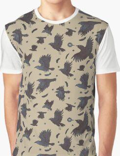 Flight of Ravens Graphic T-Shirt